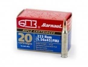 Barnaul .223 Rem 55 Gr SP