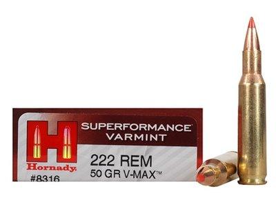 Hornady V-Max .222 Rem