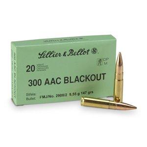 Sellier & Bellot .300AAC Blackout 147Gr FMJ